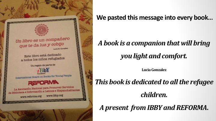 IBBY Reforma Bookcard
